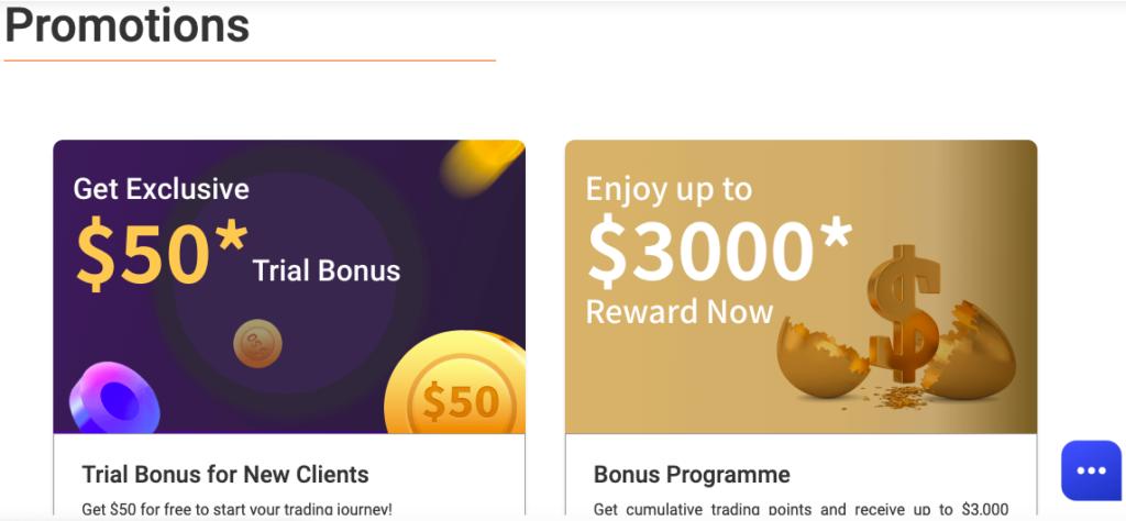 Bonuses at FX broker MiTrade