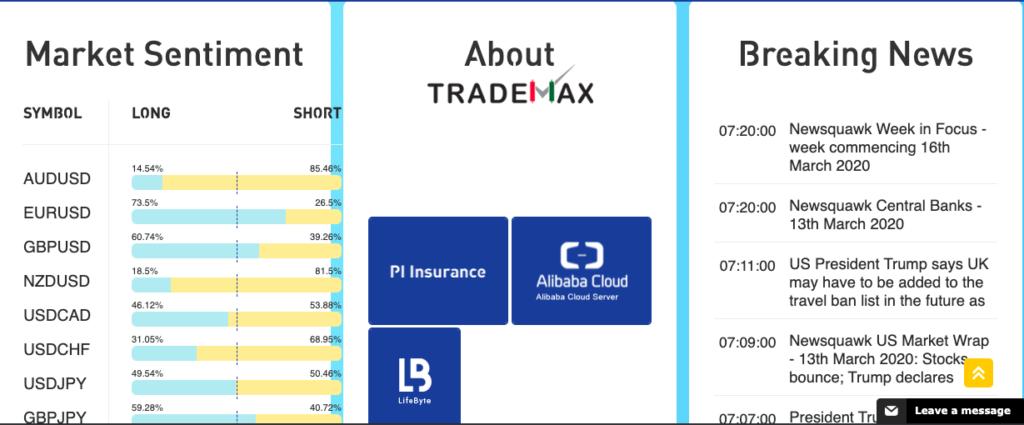 Payment Methods TradeMax