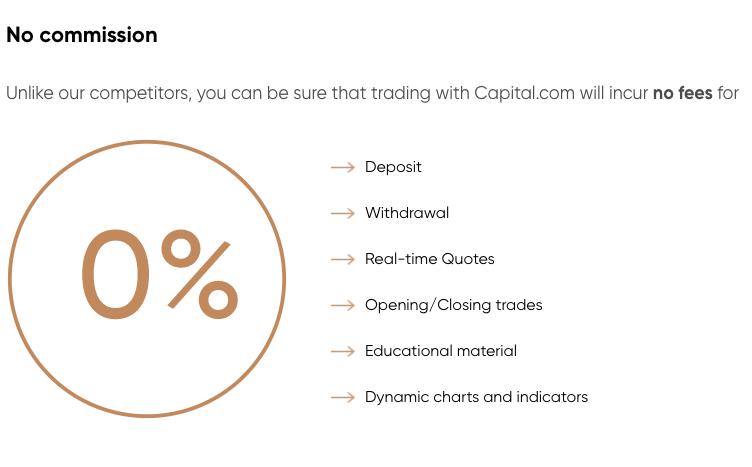 Deposits at Capital.com FX broker