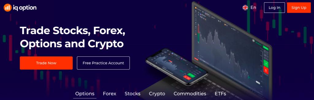 IQ Option FX broker