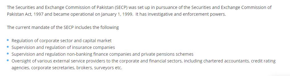 registered forex brokers in pakistan