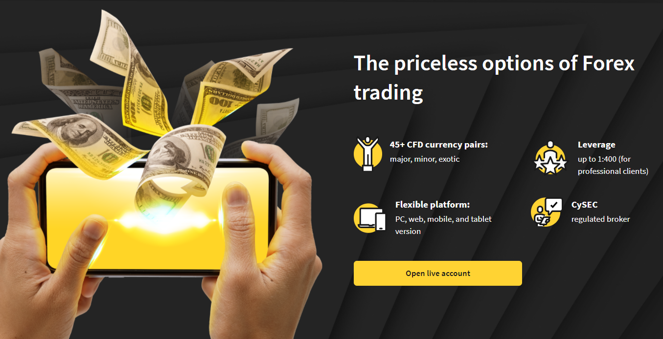 Review of Brokereo Forex broker