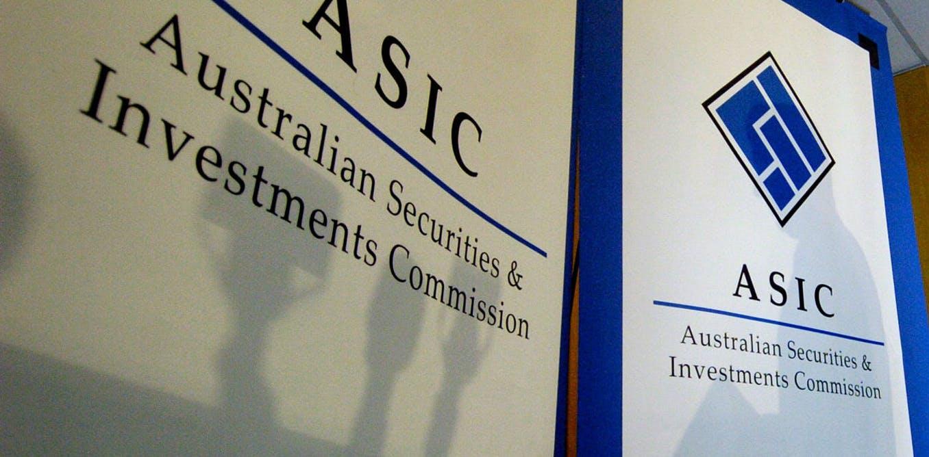 ASIC suspends licenses
