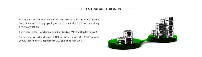 Capital Street FX bonuses reviewed