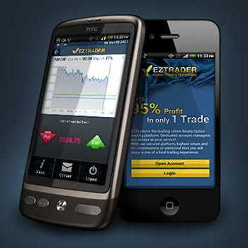 Mobile Trading Application - EZTrader.com - binaryoptionsnow
