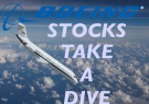 Boeing stocks dip after canceled orders