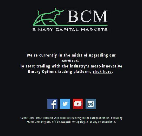 bcm trading platform