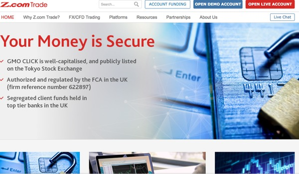 Z.com homepage